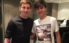 Leo Messi gave advice to Argentinian youngster Franco Bartucci before La Masia trial [Quotes]