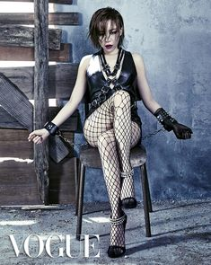 Brown Eyed Girls' Ga In in Vogue Korea August 2013