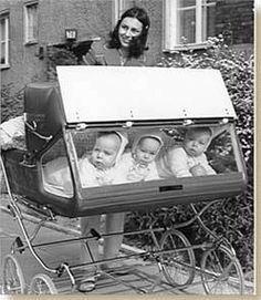 Drieling kinderwagen.
