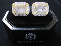 Elite & Luck Cufflinks Lookbook photo on Instagram @eliteandluck #Luxury…