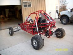 Mini Sand Rail Vw Beach, Beach Buggy, Custom Motorcycles, Custom Bikes, 4 Wheels Motorcycle, Build A Go Kart, Go Kart Plans, Off Road Buggy, Drift Trike