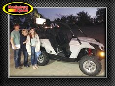 Thanks to Tristin Koen, Linda Clark and Madison Elmore from Millry AL for getting a 2017 Can-Am Commander 800. @HattiesburgCycles