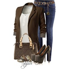 Alaa. by stylisheve on Polyvore featuring H&M and Michael Kors