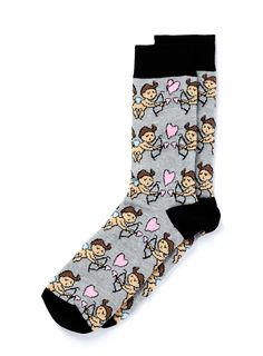 Cupid Valentines Socks