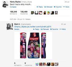 She gets the gold medal. | The 11 Best Replies To One Direction's Tweets