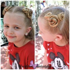 Fun Mickey Mouse buns for Disneyland! Love!!!