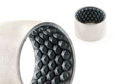 Hex ring by Cinnamon Lee (Sterling silver, oxidised sterling silver)