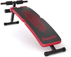 Goplus Sit Up Bench Adjustable, Foldable Abdominal Training Workout Slant Bench, Decline Curved Ab Bench with 4 Adjustable Height Settings Adjustable Weight Bench, Adjustable Weights, Hoist Fitness, Head Injury, Weight Benches, Muscle Training, Leg Raises, Sit Up, Sports Equipment