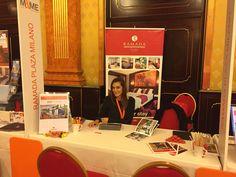 Sales Executive Viviana at Mice&More Convention.