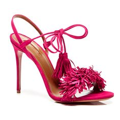 """AQUAZZURA- WILD THING """"These Bright Sandals Were Meant for Spring"""""""
