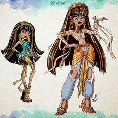 Monster High Art, Monster High Characters, Monster Prom, Monster High Dolls, Monster Girl, Japanese Pop Art, Character Art, Character Design, Hello Kitty My Melody