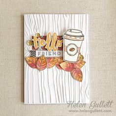 Fall Coffee Lover Blog Hop Card