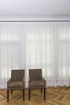 Lovely Sheer Curtains With Shutters - Sheer drapes, also known as sheers, are lightweight fabrics that cover over your windows, soften your home's Curtains With Plantation Shutters, Curtains Over Blinds, Sheer Curtains Bedroom, Block Out Curtains, White Linen Curtains, Sheer Blinds, Living Room Drapes, Swag Curtains, Window Sheers