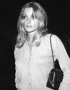 Sharon Tate + Chanel bag.
