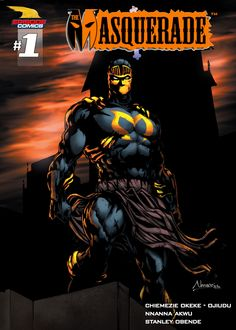 THE MASQUERADE #1 (EPISODE COMICS)  Gabriel Kobo, the scion of the illustrious Kobo family escapes death but learns of his father's untimely demise at the hands of deadly assassins. Moving back to the family estate, Gabriel comes across an ancient but familiar mask. This epic story chronicles the origins of Guru City's greatest superhero.