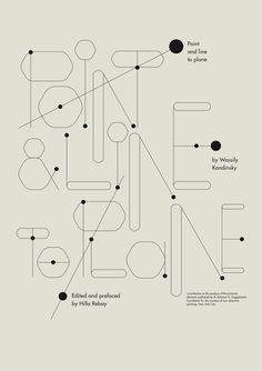 Christoph Ruprecht - Point and Line to Plane : Book on Typography Served Typography Letters, Lettering, Typography Poster, Graphic Design Typography, Typography Served, Branding, Design Plano, Typographie Inspiration, Illustrated Words