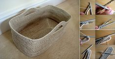 Baskets can really be such a useful tool to have around the home. Not only are they perfect for s...