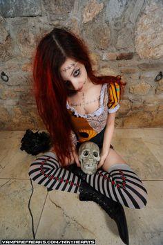 Sally Nightmare before Vhristmas Tim Burton cosplay