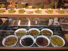 OIL & VINEGAR: Discover the best olive oils, vinegars, herbs, spices, culinary gifts and have a taste of the olives at the 'olive bar'.