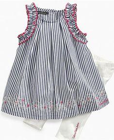 Striped Cotton Dress Striped Dress