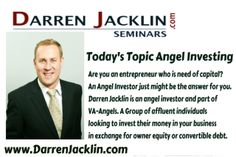Angel Investing with Darren Jacklin. Today on Straight talk with Carly Alyssa Thorne we learn all about Angel Investing with Darren Jacklin....