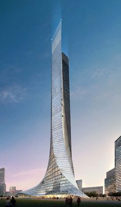 Nanjing Sunning Tower by Aedes Architects :: competition entry
