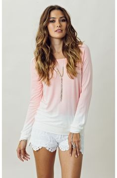 """Blue Life Classic Sweatshirt - Ashley, Social Media Manager """"Super comfy & great for a breezy beach day."""""""