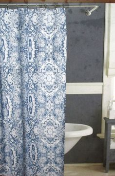 1000 Images About Blue Paisley Shower Curtain On Pinterest Shower Curtains Paisley And