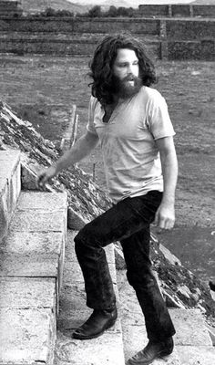 Jim Morrison - had a beard before they were popular!!