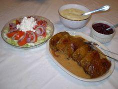 Kaalikääryleet Baked Potato, Grains, Rice, Potatoes, Baking, Ethnic Recipes, Food, Potato, Bakken