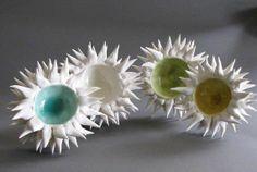 HEATHER KNIGHT element clay studio urchin bowls