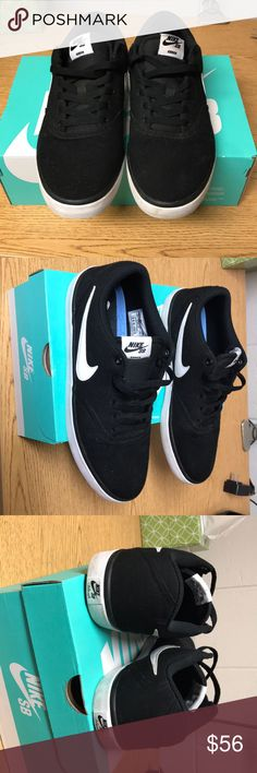 Nike Sb check solar cnvs Great condition! Worn once :) comes with box! Nike Shoes Sneakers