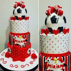 Soccer Woman Cake