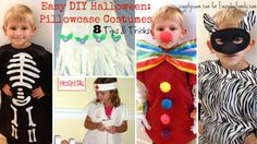 Need a last minute costume for your child that won't break the bank? Looking for an easy costume you can make? All you need is a pillowcase. No, really. Last Minute Costumes, Easy Halloween Costumes, Diy Halloween, Costume Ideas, All You Need Is, Special Needs Kids, Sewing Toys, Holidays Halloween, Hallows Eve