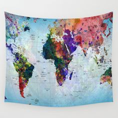 Buy map wall tapestry by mark ashkenazi worldwide shipping buy map wall tapestry by mark ashkenazi worldwide shipping available at society6 just one of millions of high quality products availab gumiabroncs Gallery