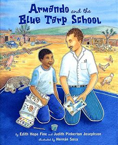 Armando and the Blue Tarp School by Edith Hope Fine