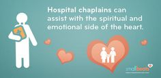 Here's how a hospital chaplain provides support to heart kids and their families.