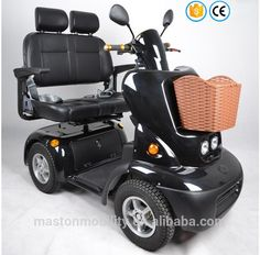 Double Seats Heavy Duty Mobility Scooter - Buy Mobility ...