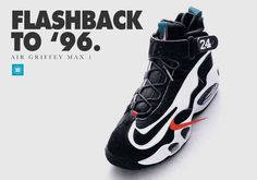 History of the Nike Air Griffey Max, Ken Griffey Jr's first signature sneaker.