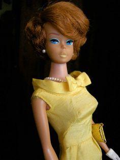 Titian side-part bubblecut Barbie