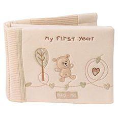 Hug Me Bear - My First Year Book