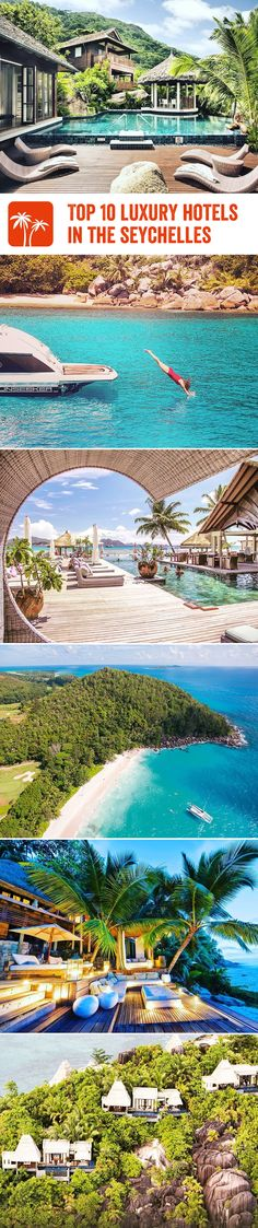The Seychelles just ooze luxury and opulence, so it's no wonder these magnificent islands are home to equally luxurious hotels. From hillside villas and impeccable food, to gorgeous boutiques and indulgent spa treatments, here are some of the Seychelles most lavish hotels