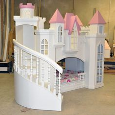Braun Castle Bunk Bed For The Granddaughters.