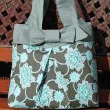 Cute bag and I LOVE the fabric!!