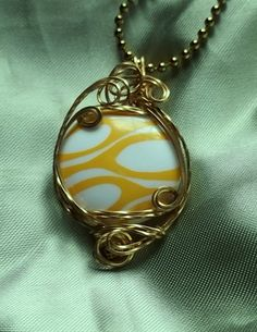 Wire Wrapped Pendant by deans on Etsy, $9.00