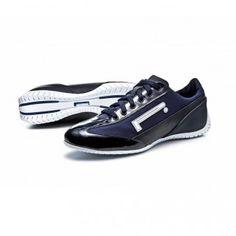 PZERO-ROXY  Pirelli PZero sneaker blue in fabric and patent leather, characteristic rubber sole with tyre design
