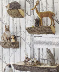 boskamer, kinderkamer, meisjeskamer, dierenkamer #DIY