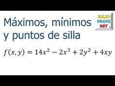 Puntos Críticos en una función de dos variables - Ejercicio 1 - YouTube