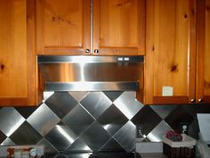 Stainless Steel Back Splash