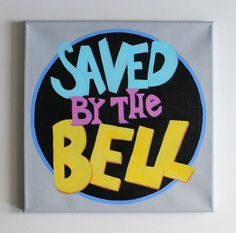 Saved by the bell logo font